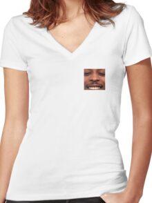 JME Women's Fitted V-Neck T-Shirt