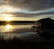 Finnish Sunset by Adam Irving