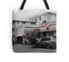 Streets of Dominica Tote Bag