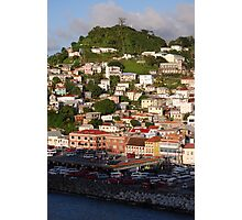 Houses on the hill Photographic Print