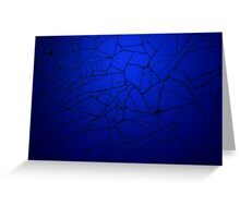 Blue Background - Worn Time Texture Greeting Card