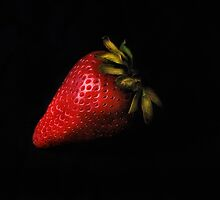 Ripe Strawberry by Jeffrey  Sinnock