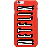 Netflix case iPhone Case/Skin