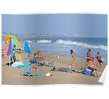 Misquamicut Beach - Rhode Island Poster