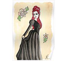 Gothic Rococo Poster
