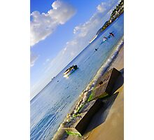 Blue Days- Grenada Photographic Print
