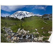 Mount Rainier, Paradise Visiting Area Poster