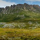 Cradle Mountain Panorama - Tasmania by Marcus Krigsman