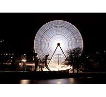 Birrarung Marr Ferris Wheel - Melbourne Photographic Print