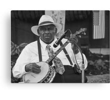 Mr. Banjo Canvas Print