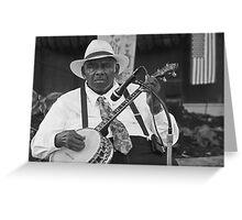 Mr. Banjo Greeting Card