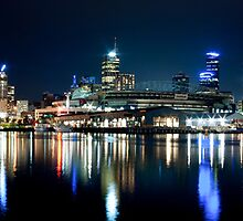 Docklands Panorama - Melbourne by Marcus Krigsman
