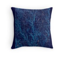 Massachusetts  USGS Historical Topo Map MA Chesterfield 352563 1888 62500 Inverted Throw Pillow