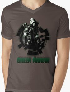 Green Arrow Mens V-Neck T-Shirt