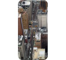 New York City Streetscape iPhone Case/Skin