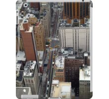 New York City Streetscape iPad Case/Skin
