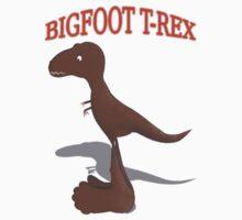 Bigfoot T-Rex Kids Clothes