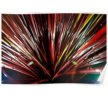 Pick-up sticks - sculpture  Poster