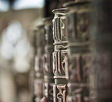 Prayer Wheel - Nepal by Marcus Krigsman