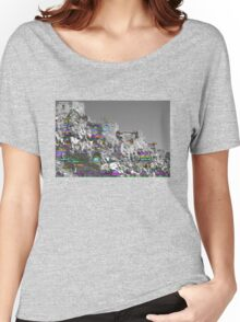 Glitch Castle  Women's Relaxed Fit T-Shirt