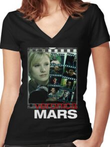 Veronica Mars Women's Fitted V-Neck T-Shirt