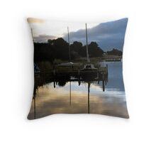 Goolwa sunset  Throw Pillow