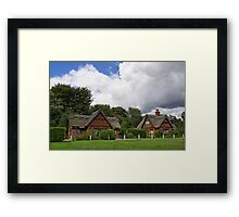 Country Cottages Framed Print