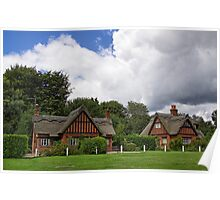 Country Cottages Poster