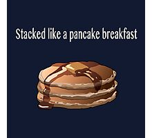 Pancake Breakfast  Photographic Print