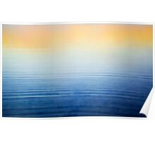 Abstract at Sunrise Poster
