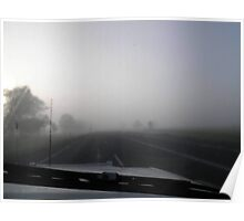 Friday Morning - Between Gracemere and Rockhampton, QLD Australia Poster