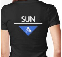 Sun&Moon: Sun Womens Fitted T-Shirt