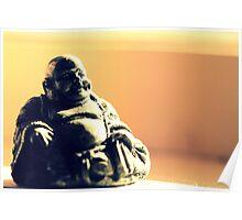 Peace, Buddha Poster