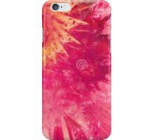 pink/ yellow tiedye iPhone Case/Skin