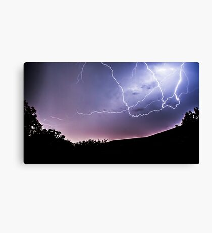 Anvil Crawlers at Night Canvas Print