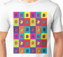 Maneki Neko Kitty Rainbow Pop Art Unisex T-Shirt