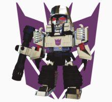 Transformers Megatron Deformed 3D One Piece - Short Sleeve