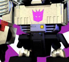 Transformers Megatron Deformed 3D Sticker