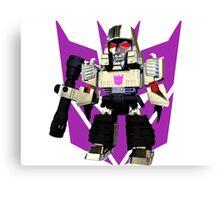 Transformers Megatron Deformed 3D Canvas Print