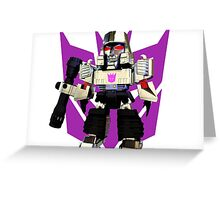 Transformers Megatron Deformed 3D Greeting Card