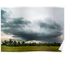 Spinning Storms Poster