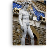 The Replica....Florence. Canvas Print
