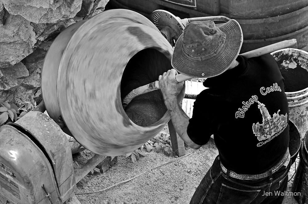 The Man at Work by Jen Waltmon