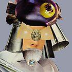 eggplant head grey by Soxy Fleming