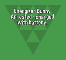 Energizer Bunny Arrested - charged with battery. T-Shirt