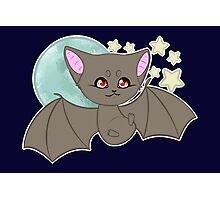 Cute Bat Photographic Print