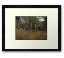 Retro Stock Ramp Framed Print