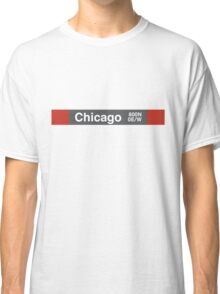 Chicago - Red Line Classic T-Shirt