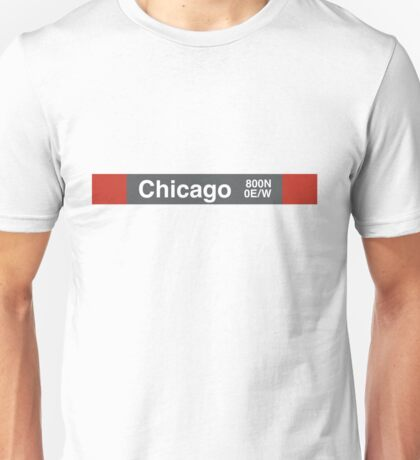 Chicago - Red Line Unisex T-Shirt