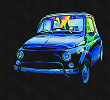 Fiat 500 Pop Art by Edward Fielding
